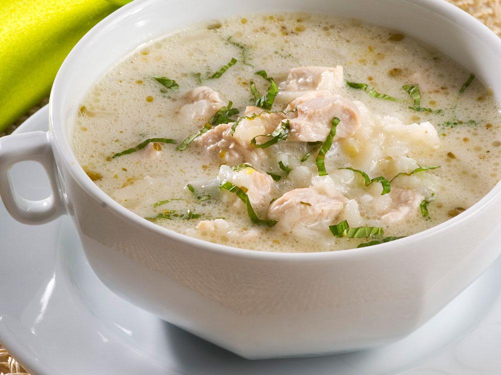 Kremalı Pirinçli Hindi Çorbası